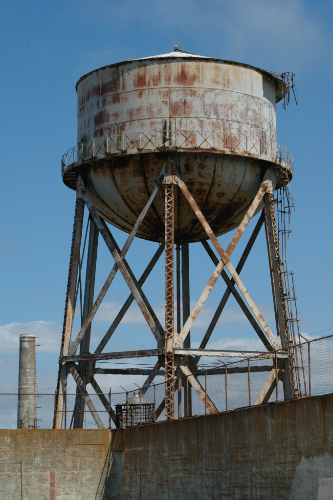 Rusty Old Water Tower