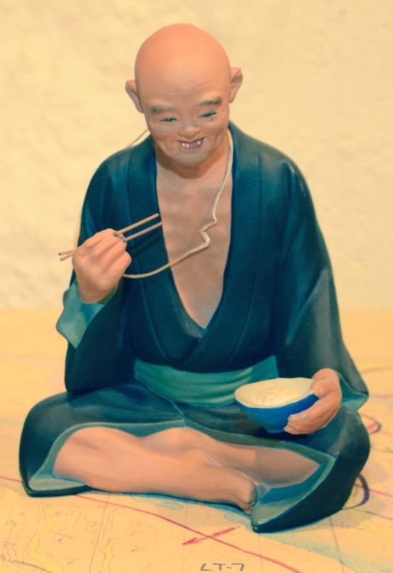Old Man in Kimono