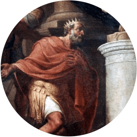 King Priam of Troy