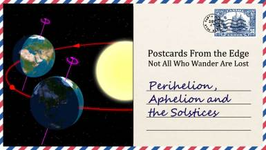 Perihelion, Aphelion and the Solstices