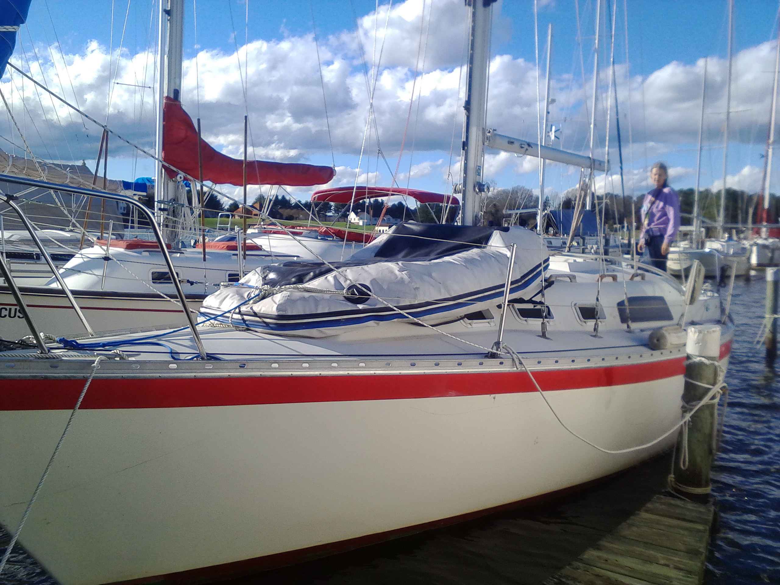 Sailboat Review of the Irwin 30 Competition
