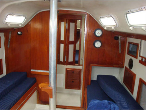Salon of the 1979 Irwin 30 Competition