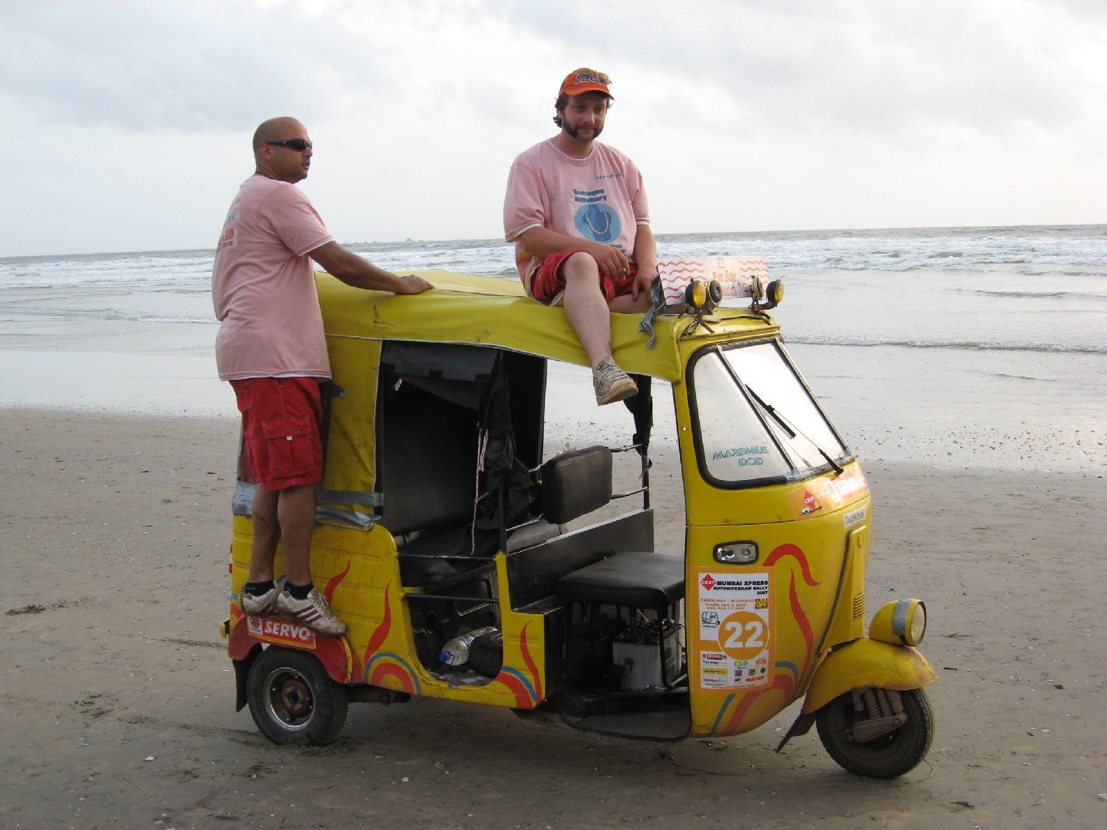 The Rickshaw Challenge - A Three Wheeled Race Across India