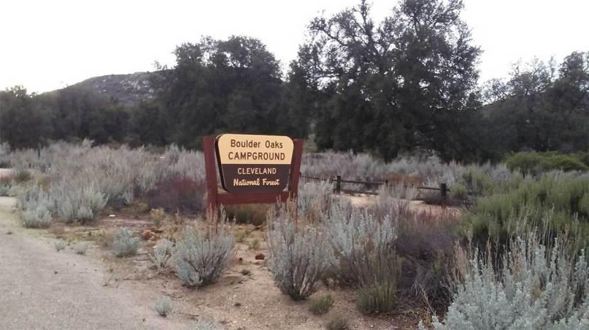 Boulder Oaks Campground