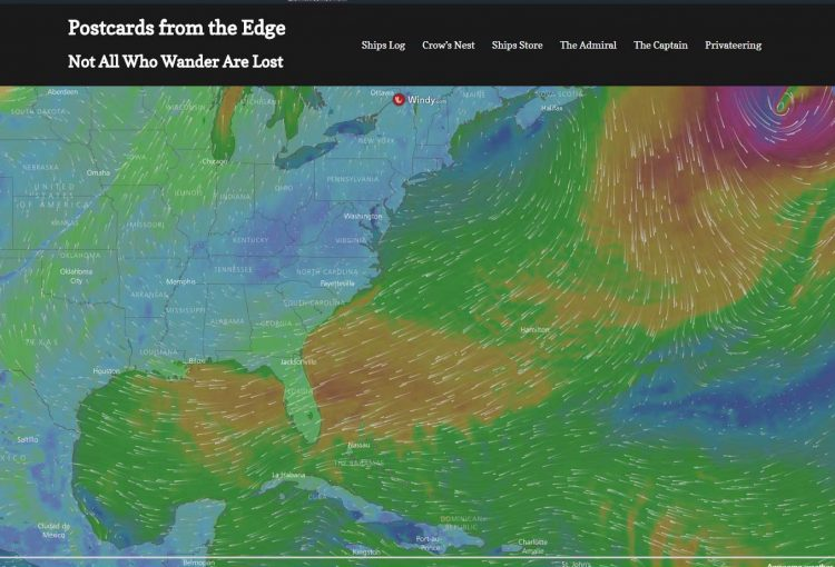 Active Weather Wind and Wave Maps