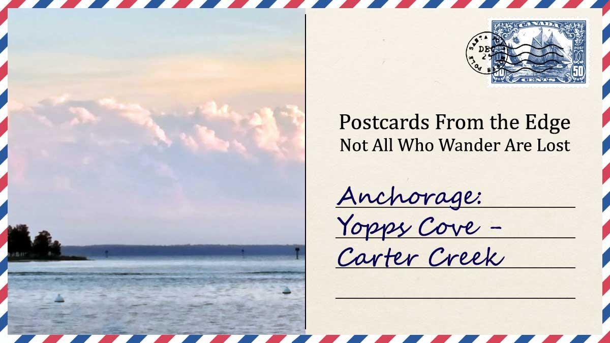 Anchorage: Yopps Cove - Carter Creek
