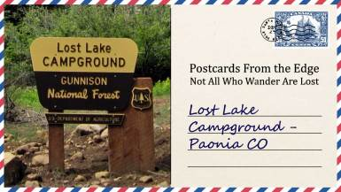 Lost Lake Campground - Paonia CO