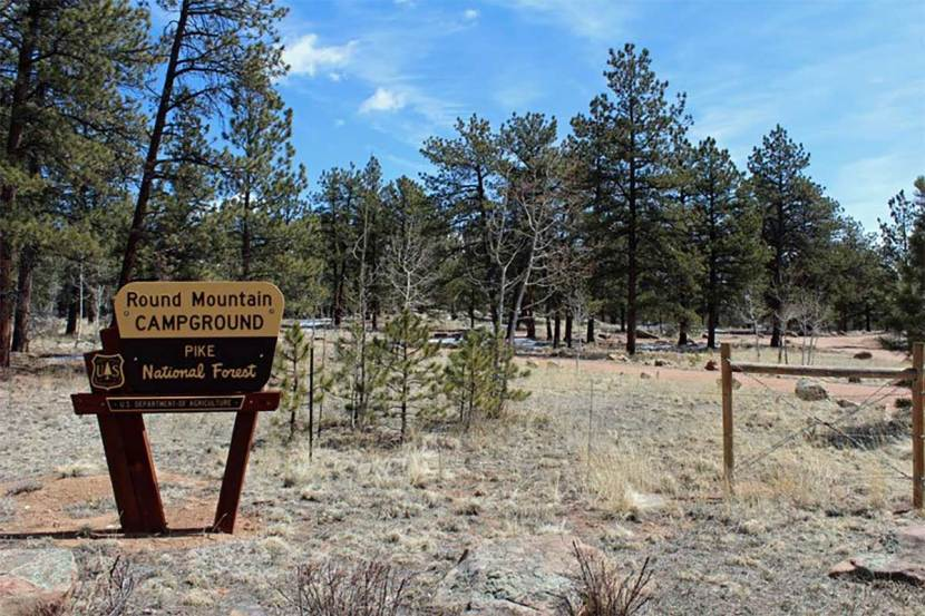 Round Mountain Campground - Pike National Forest