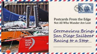 Coronavirus Brings San Diego Sailboat Racing to a Stop