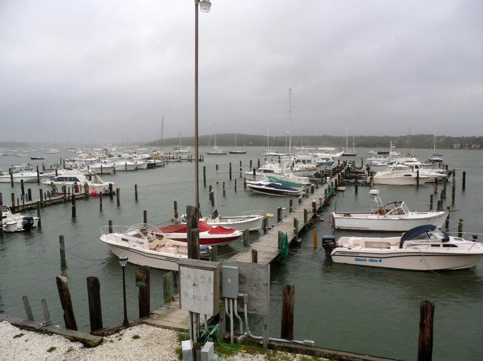 More docks at F.L. Tripp & Sons Marina.