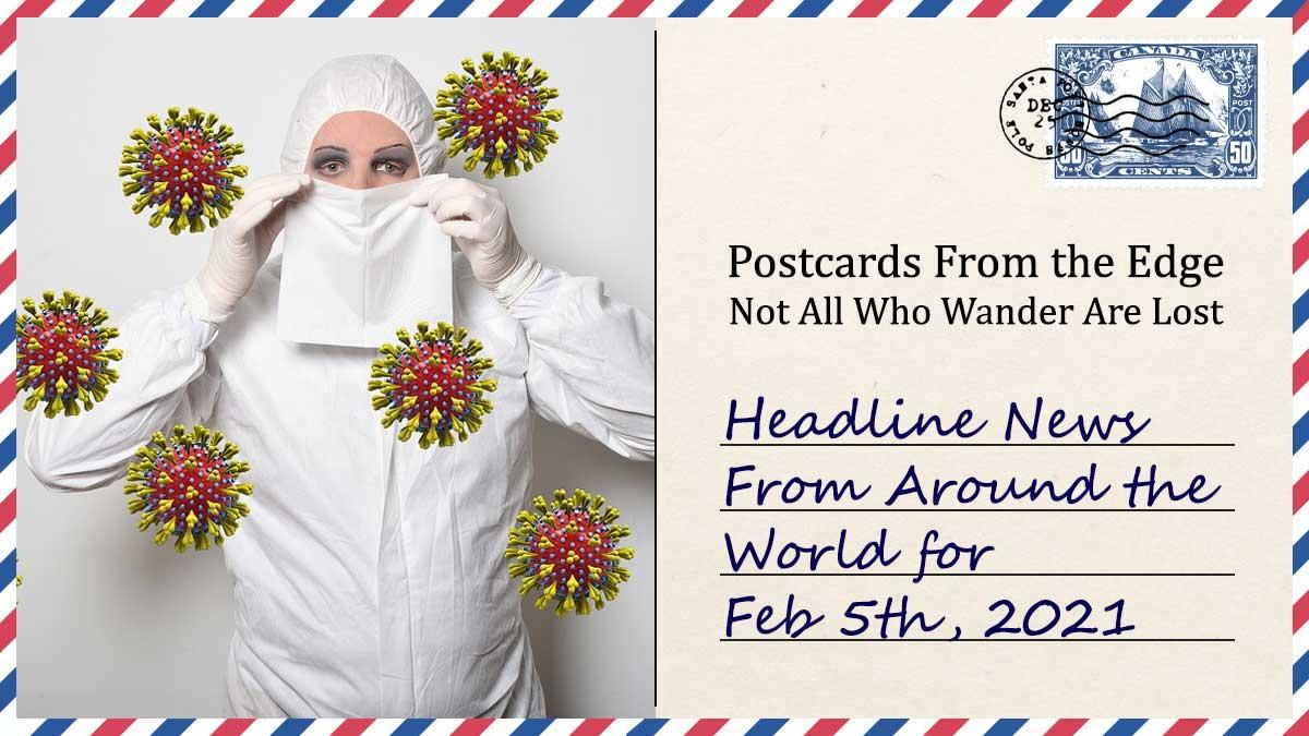Headline News - Over 4,000 Variants of Coronavirus