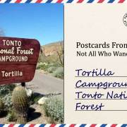 Tortilla Campground in Tonto National Forest