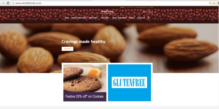Ecommerce Website Creation for Whole Foods