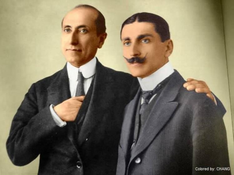 Amado Nervo y Luis Castillo Ledón