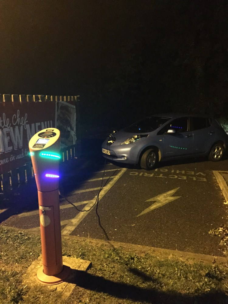 Long-distance electric driving - how not to do it! (2/2)
