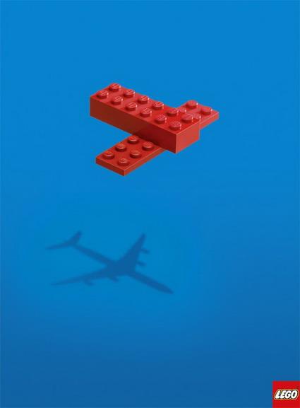 Lego Shadow Plane Ad