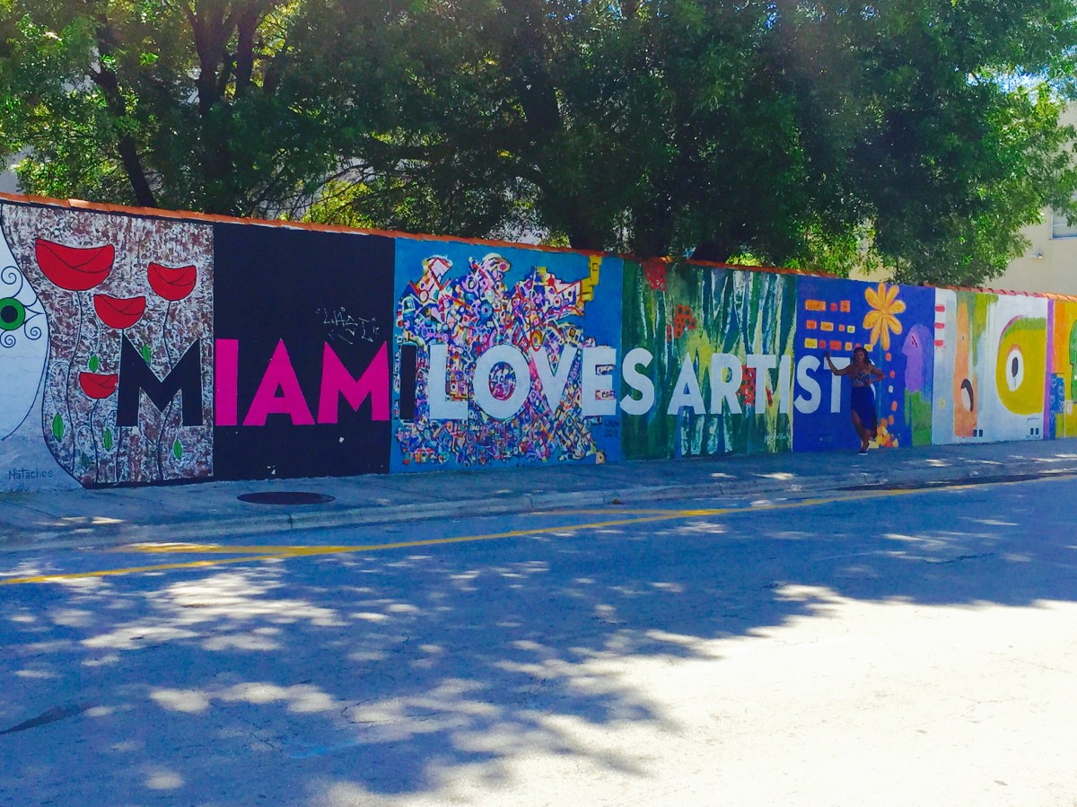 Words Travel Fast Downtown Miami Murals