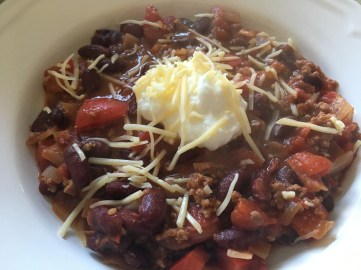 chili con carne, recepten, healthy food, notanotherfitgirl, not another fitgirl, food, koken