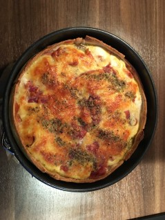 Italiaanse quiche, not another fitgirl, koken, quiche, notanotherfitgirl