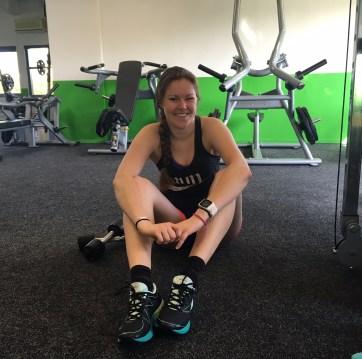 Not another fitgirl, Polar, Fitness test, Revalidatie, Longvliesontsteking