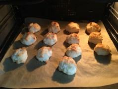 kokosmakronen, recept, notanotherfitgirl, koken, bakken, trifle met kokosmakronen en blauwe bessen, trifle