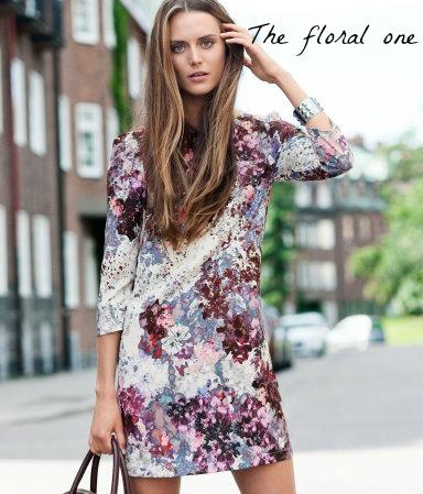 H&M floral dress, Froctober