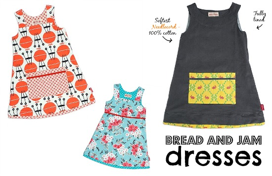 Gorgeous dresses by Bread and Jam