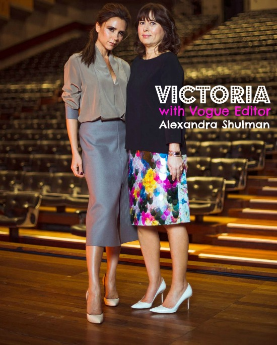 Victoria Beckham on being a working mum at the Vogue Festival 2013