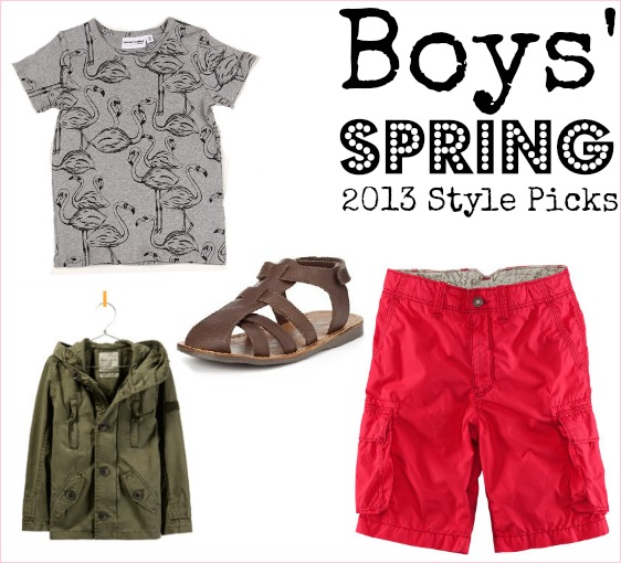 Cool clothes for boys to wear in spring and summer