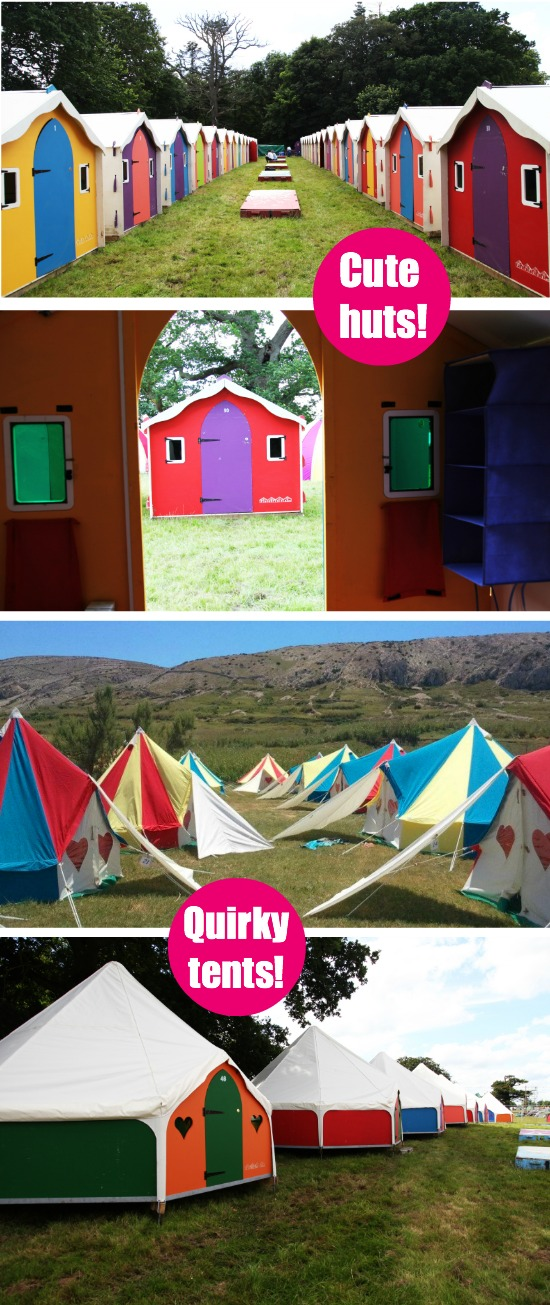 PodPads - Glamping at Camp Bestival