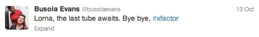 Busola Evans tweet