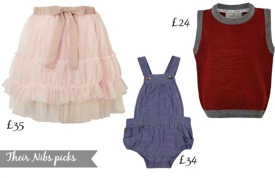 Their Nibs - vintage inspired kidswear