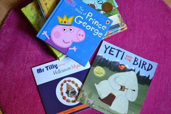 Books a three-year-old will love