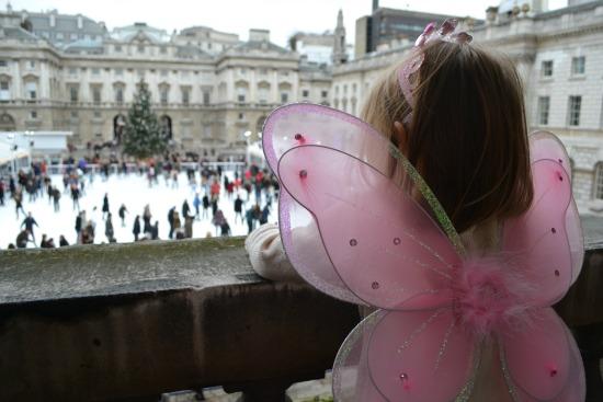 Fairy Princess at Somerset House