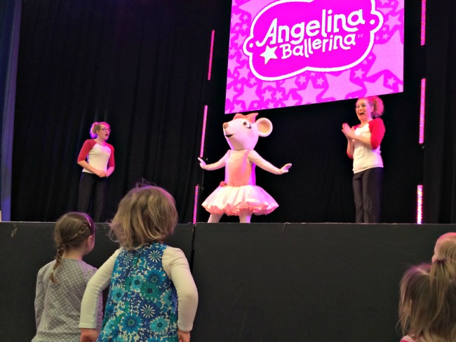 Angelina Ballerina at Butlins