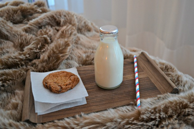Milk and cookies at The London Edition hotel - brilliant family package!
