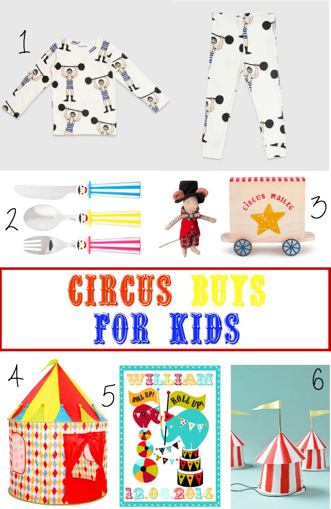 Circus buys for kids