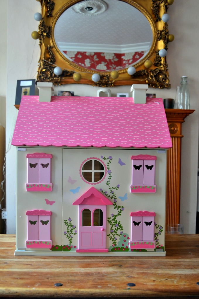 Wooden dolls house from Asda