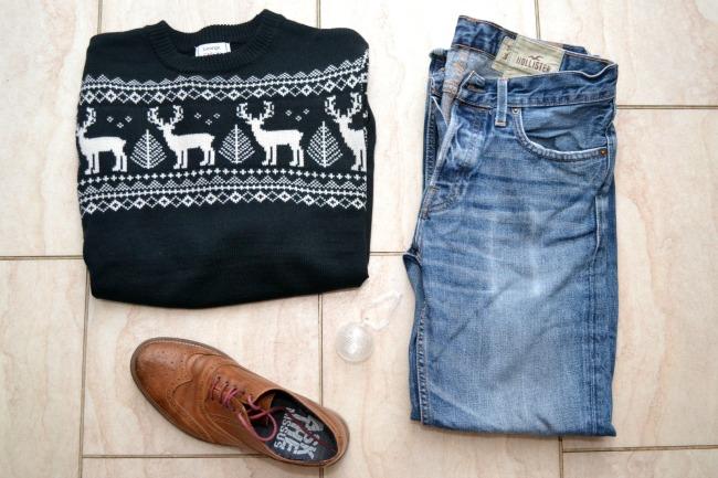 Christmas jumper chic