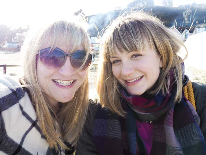Alison Perry and Molly Forbes, bloggers