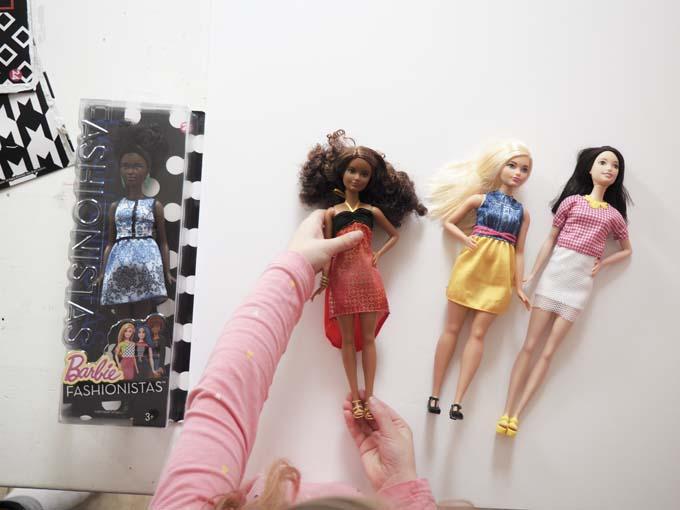 New Barbie dolls 2016