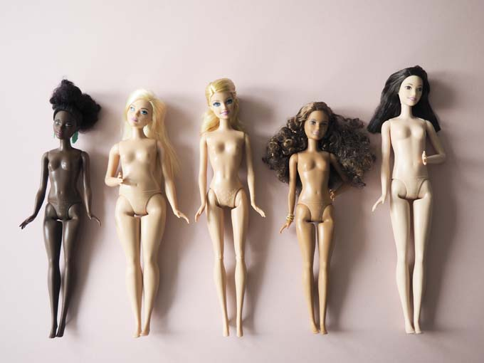 New Barbie body shapes 2016