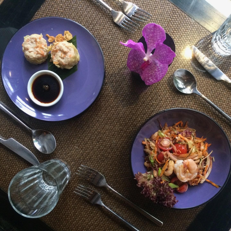 lunch at Zen Garden, Careys Manor Senspa