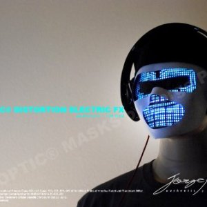 DJ Mask-LED Light Up MASK - 1