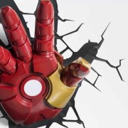 Iron Man 3 Hand 3D Deco/Night Light - Works with Iron Man 3 Mask