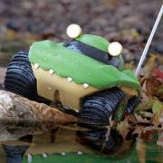ABC123: Toy Review! Unboxing Toy Car (Drives on Water!) - Kid Galaxy Morphibians Remote Control