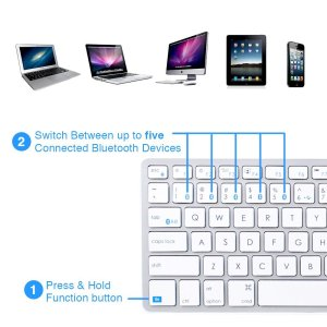 Satechi Bluetooth Wireless Smart Keyboard - 2