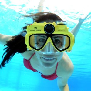 Underwater Video Camera Swim Mask - 1