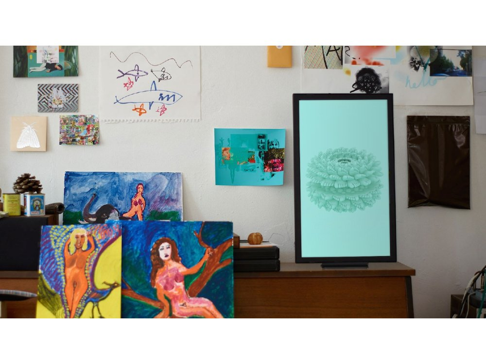 Your Room Will Become Alive With This Digital Art Display