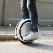 Ninebot One Self Balancing Unicycle Electric Scooter with Cool LED Light to Avoid Traffic Jam